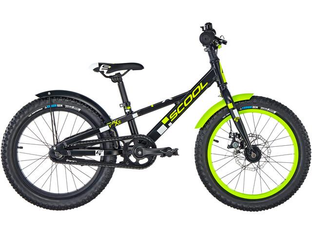 s'cool faXe 18 Børnecykel alloy sort (2019)   City-cykler